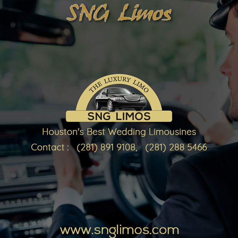 Houston's Best Wedding Limousines Service